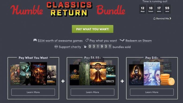 humble bundle classics return 2018 pc
