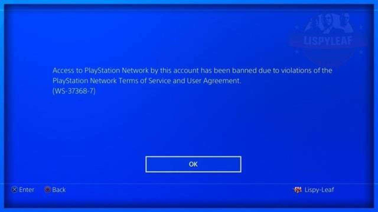 Baneos Playstation Network