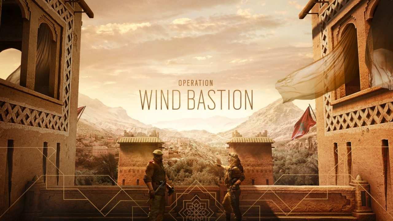 Rainbow Six Siege Wind Bastion