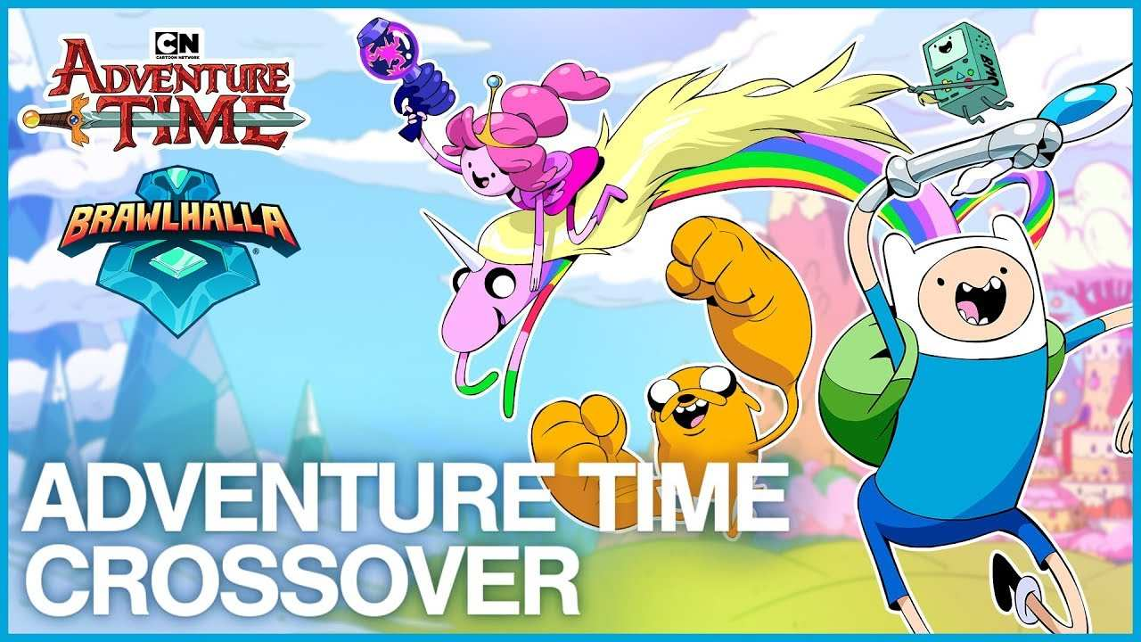Finn el humano, Jake el perro y la Princesa Chicle, de la serie de Cartoon Network Hora de aventuras, ya están disponibles en Brawlhalla.