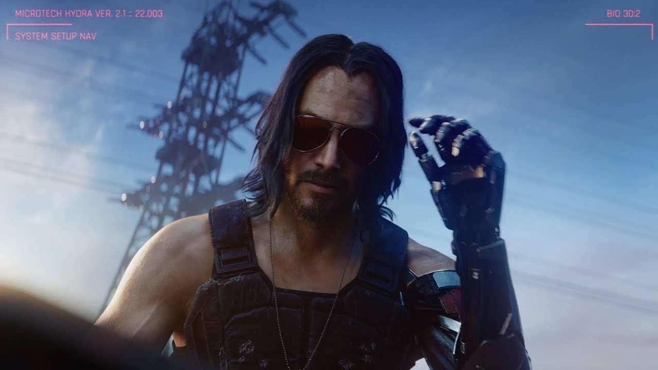 Cyberpunk 2077 - K. Reeves