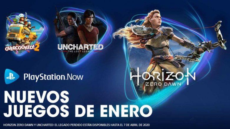 PlayStation Now enero