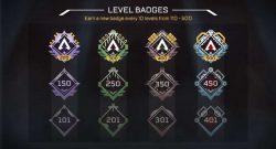 Niveles Apex Legends