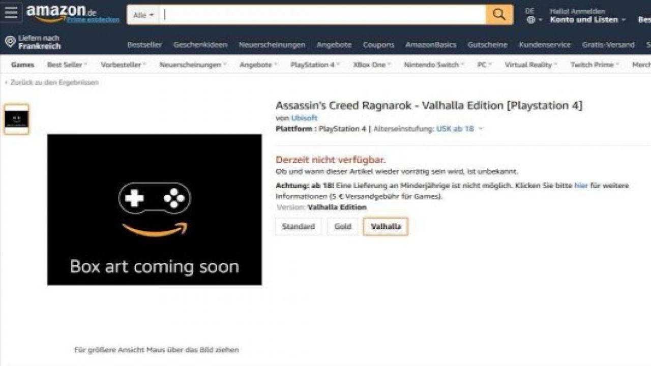Amazon Assassin´s Creed