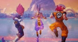 Dragon Ball Z Goku Vegeta Beerus
