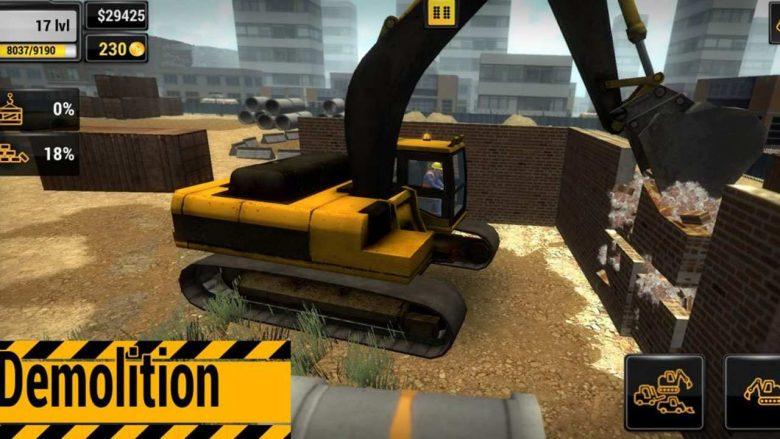 Construction Simulation llega a Switch
