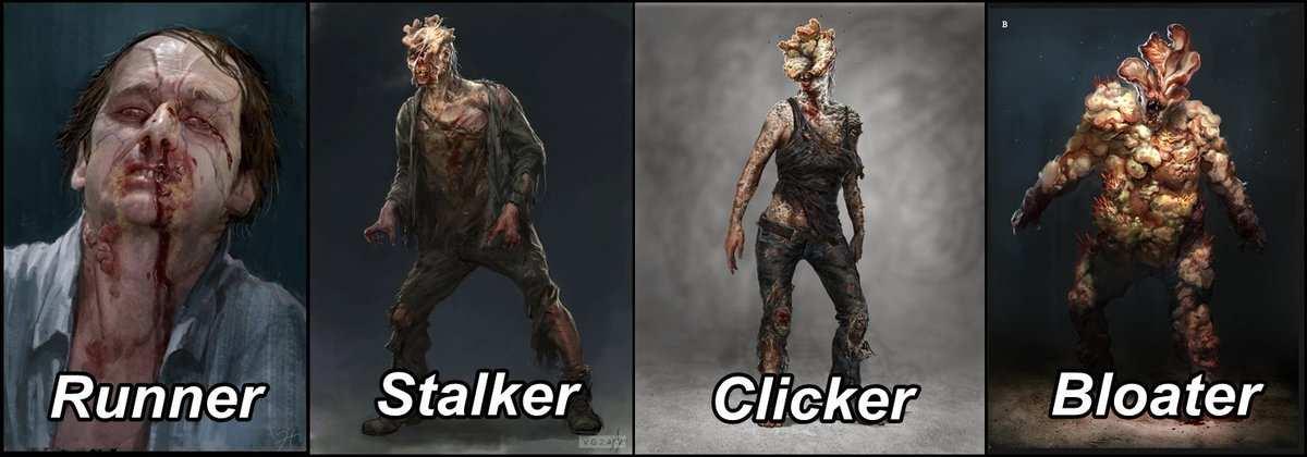 Tipos de infectados