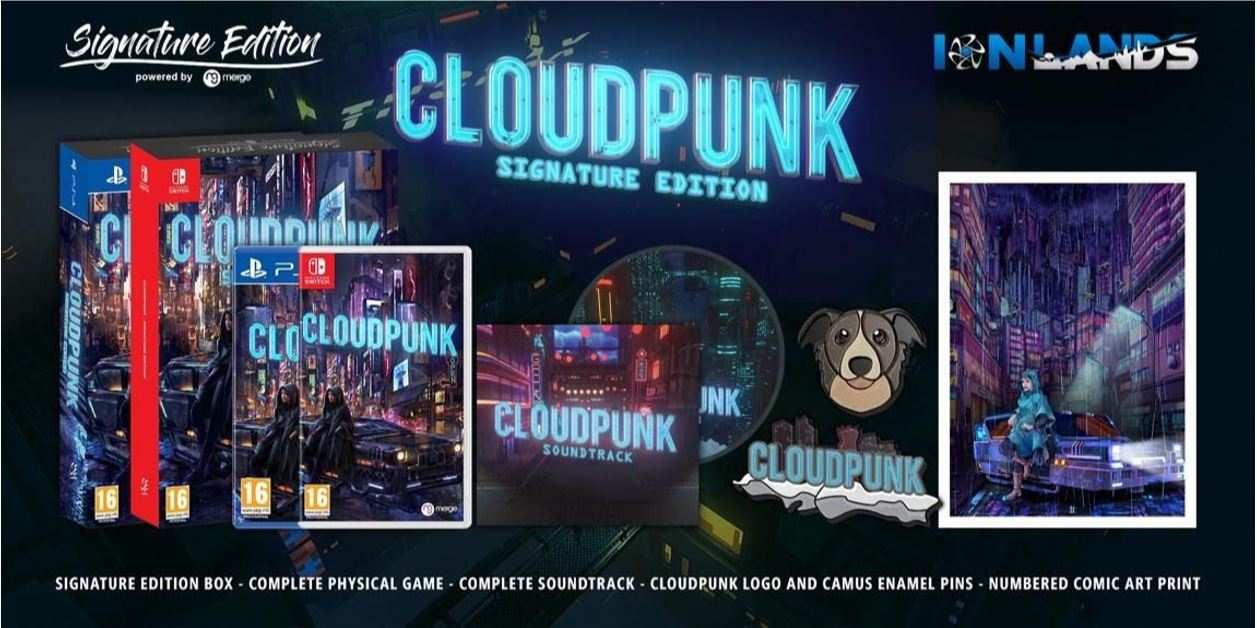 Cloudpunk Signature Edition