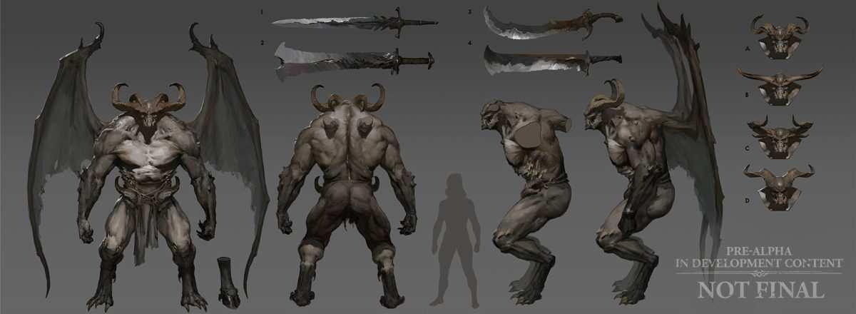 Diablo 4 Concept