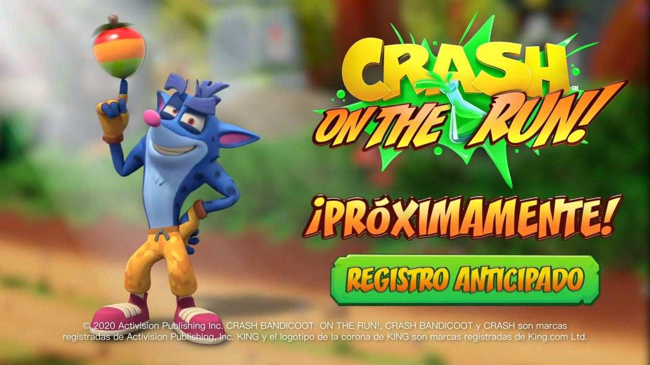 Crash Blue Hyena