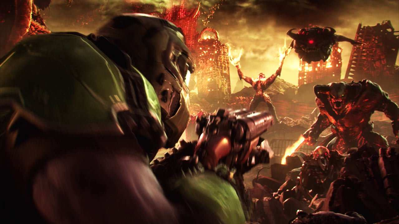 Doom Eternal presenta su tráiler de lanzamiento