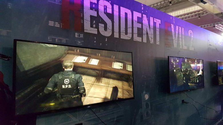 Stand de Resident Evil 2 en la BGW