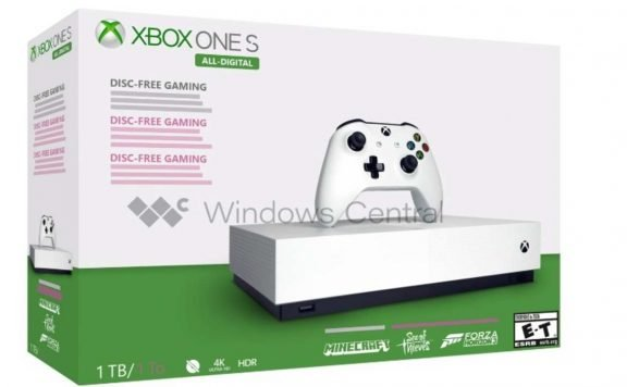 Xbox One All-Digital