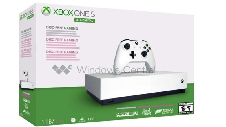Xbox One All-Digital