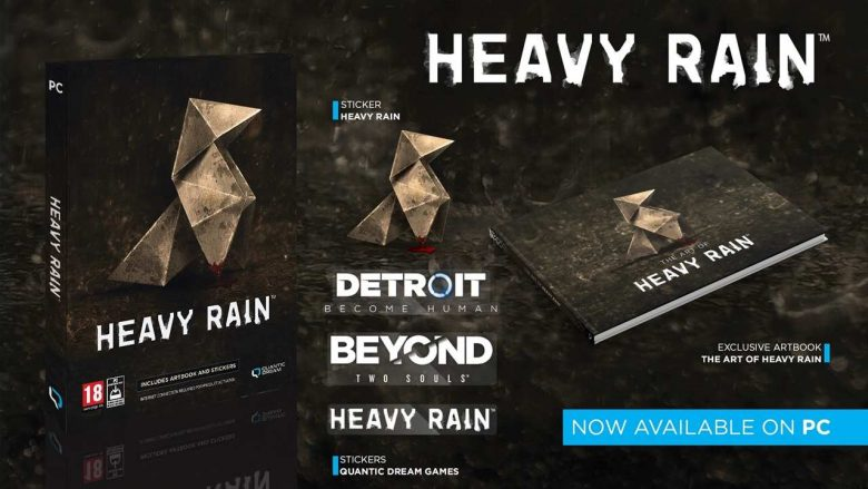 Heavy Rain, Detroit Become Huma y Beyond: Two souls ya tienen fecha