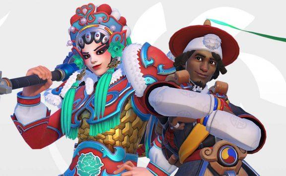 Overwatch abre el año nuevo chino