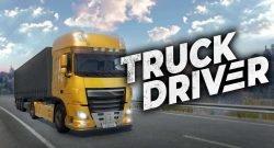 Truck Driver camión amarillo