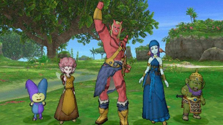 Dragon Quest X jugadores