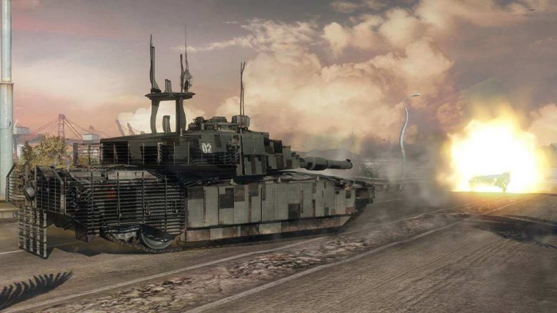 Tanque de Armored Warfare