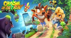 Crash Bandicoot On The Run!